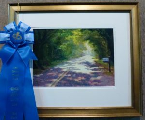"1st in Pastels - Jane Hart, ""Road To Ft Lamar"""