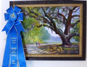 Acrylics 1st Place April by Horace Nobles