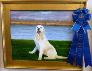"Oils First Place ""Mallie"" by Jan Roach"