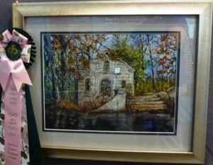 "Berkeley County Purchase Award - Dorothy Schromoff, ""Cypress Gardens ""Ruins"""
