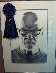 "Best of Show, Bob Graham, ""A Mirror's Story"" Pencil"